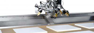 Automatic spray lines for fast and reliable product finishing
